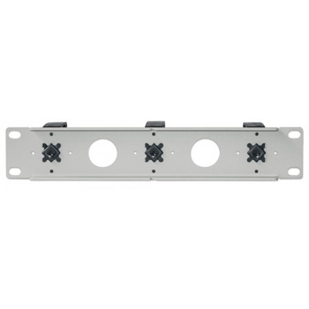 "10"" Cable Management Panel Gray, 78.8 (L) x 254 (W) x 44 (H) [mm]"