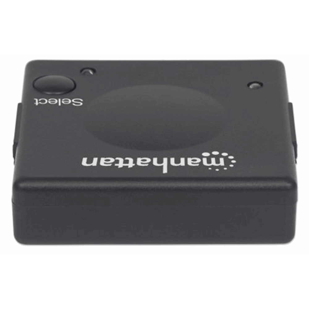 1080p 2-Port HDMI Switch Black, 51 (L) x 51 (W) x 15 (H) [mm]