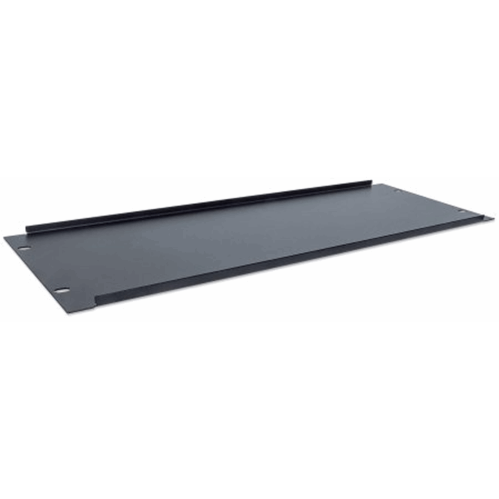 "19"" Blank Panel Black RAL9005, 9 (L) x 483 (W) x 178 (H) [mm]"