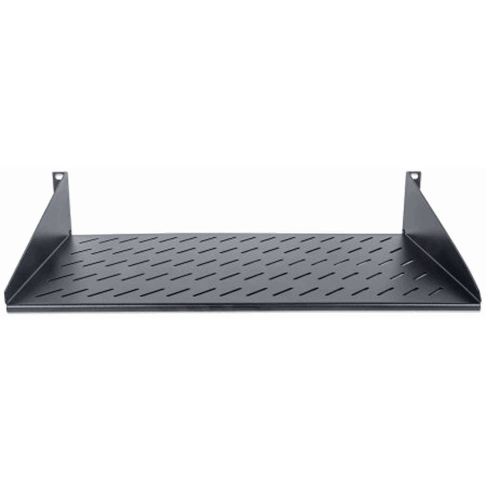 "19"" Cantilever Shelf Black RAL9005, 250 (L) x 483 (W) x 45 (H) [mm]"