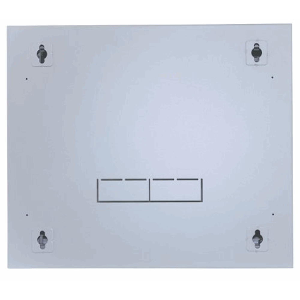 "19"" Double Section Wallmount Cabinet  Gray, 600 (D) x 540 (W) x 327 (H) [mm]"