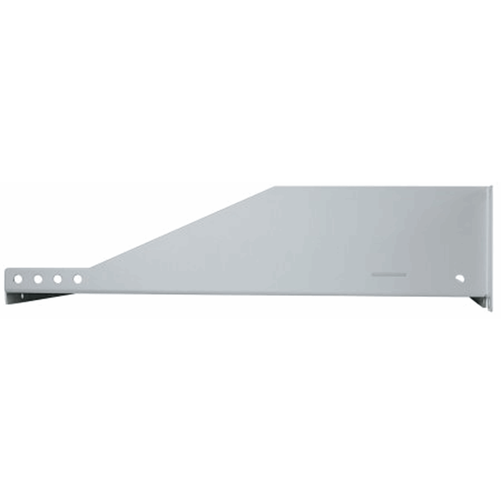 "19"" Cantilever Shelf Gray, 88 (h) x 482 (w) x 350 (d) mm"