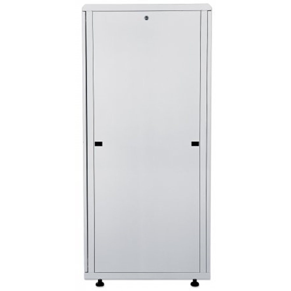 "19"" Network Cabinet, 16U,  IP20-rated housing, Flatpack, Gray"