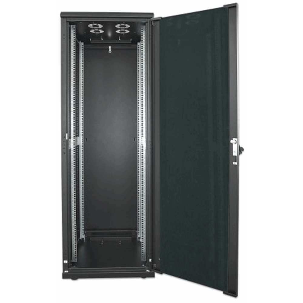 "19"" Network Cabinet, 32U, 1588 (h) x 600 (w) x 800 (d) mm, IP20-rated housing, Assembled, Black"