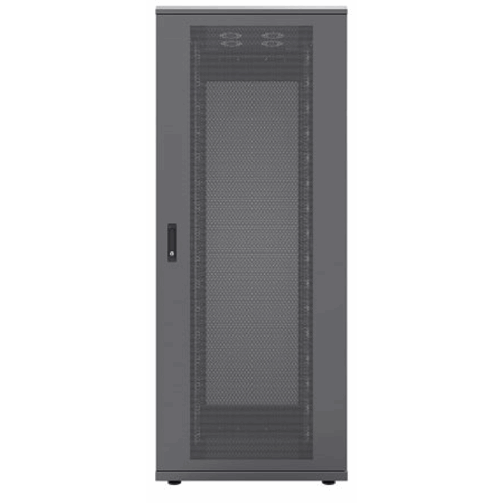 "19"" Server Cabinet Black RAL9005, 1000 (L) x 800 (W) x 2250 (H) [mm]"