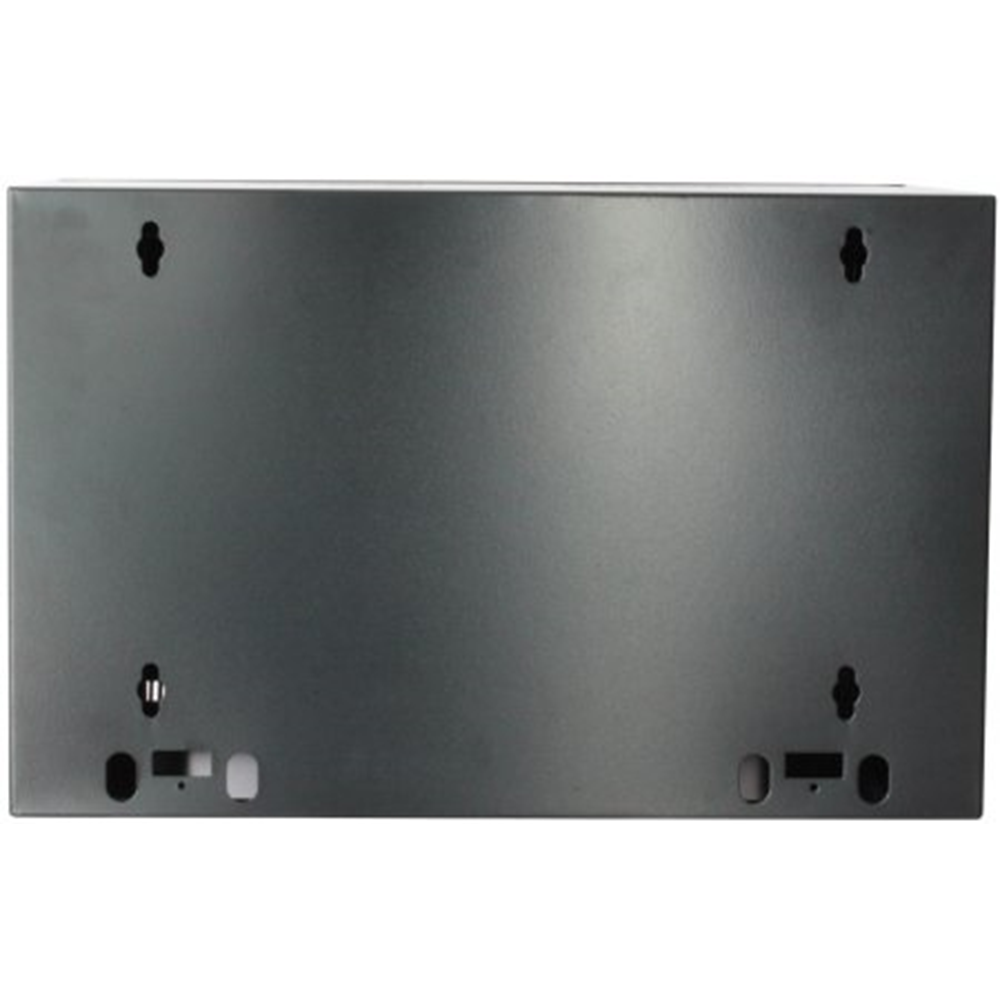 "19"" Wallmount Cabinet Black RAL9005, 370 x 600 x 450 (mm)"