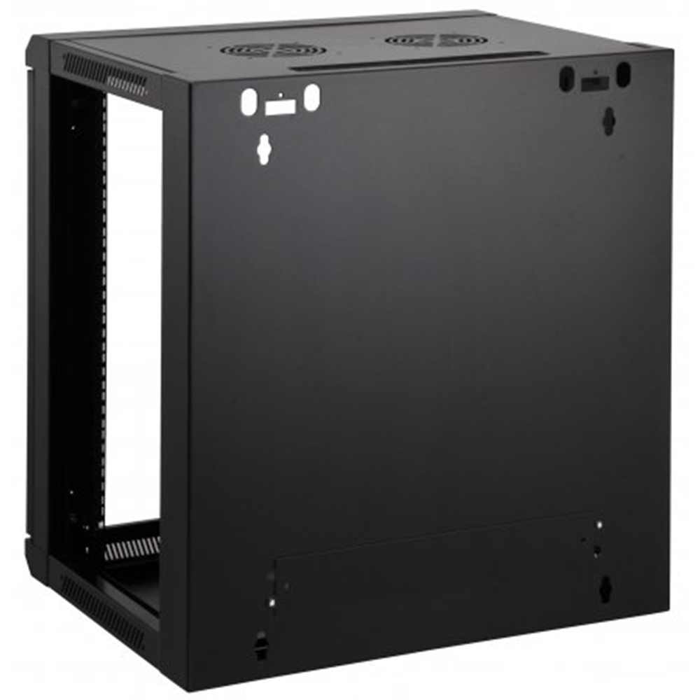 "19"" Wallmount Cabinet Black RAL9005, 635 x 570 x 450 (mm)"