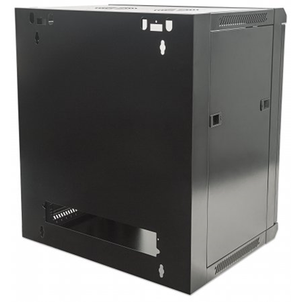 "19"" Wallmount Cabinet Black RAL9005, 770 x 570 x 450 (mm)"