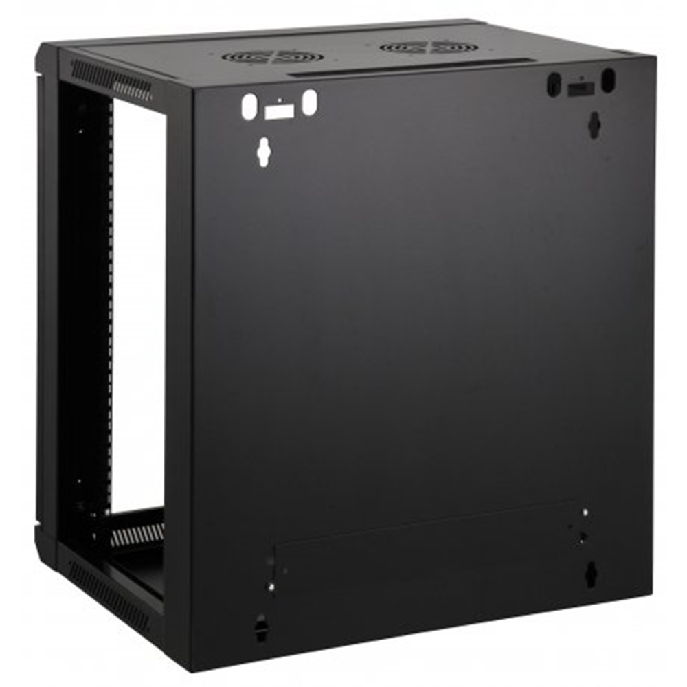 "19"" Wallmount Cabinet Black RAL9005, 990 x 600 x 600 (mm)"