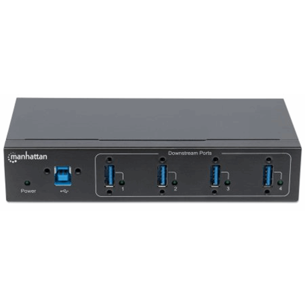 4-Port Industrial USB 3.0 Hub