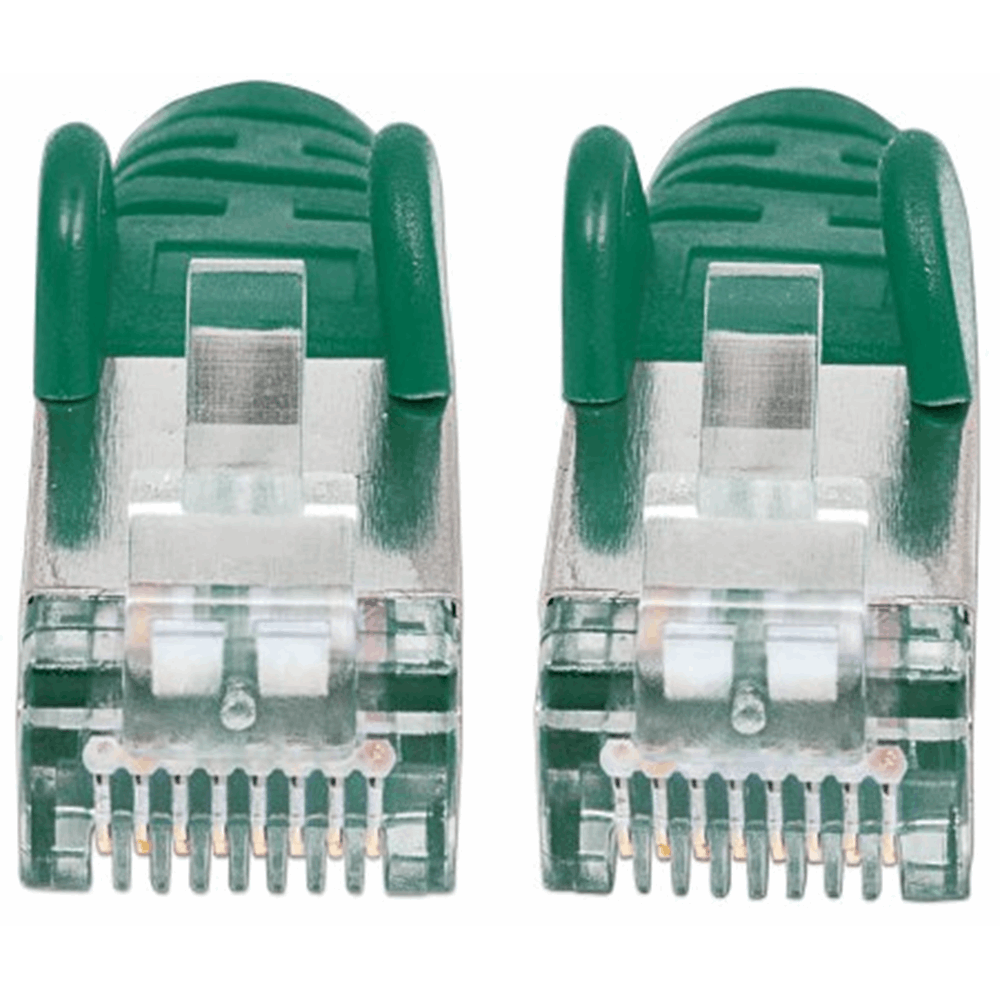 CAT6a S/FTP Network Cable Green, 30 m