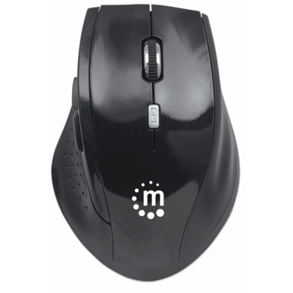 Curve Wireless Optical Mouse Black/Black