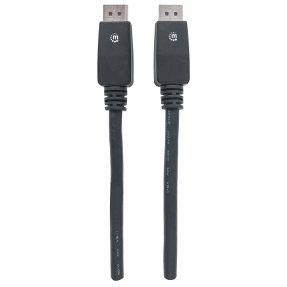 4K@60Hz DisplayPort Monitor Cable Black, 5 m