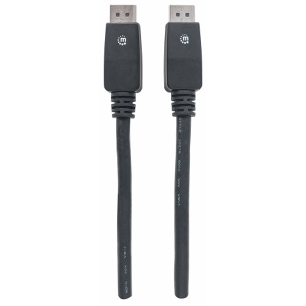 4K@60Hz DisplayPort Monitor Cable Black, 7.5 m
