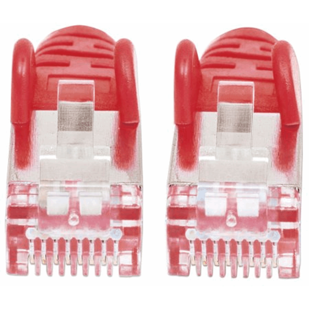 LSOH Network Cable, Cat6, SFTP Red, 7.5 m