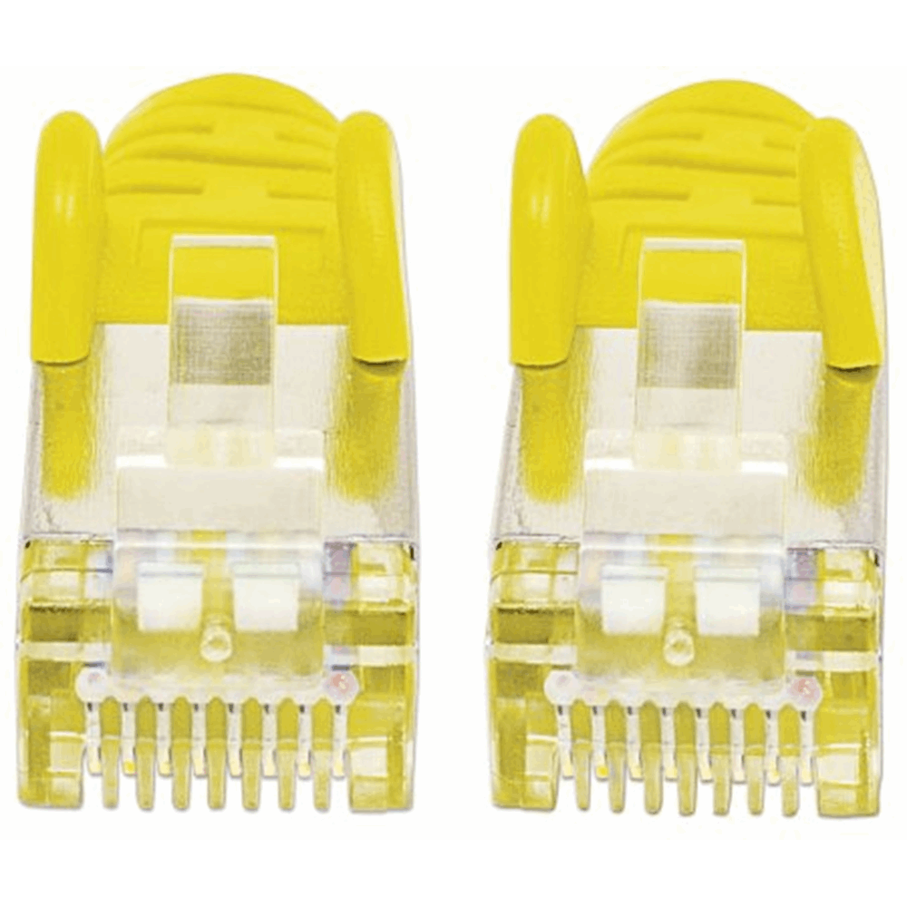 LSOH Network Cable, Cat6, SFTP Yellow, 1.0 m