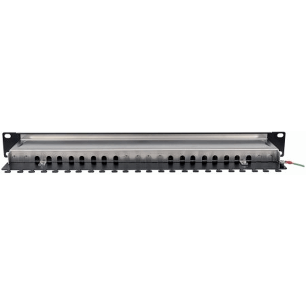 "Locking 19"" Cat6 Shielded Patch Panel"