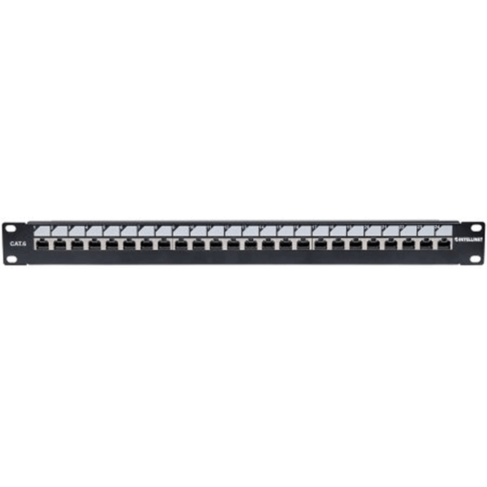 "Locking 19"" Cat6 Unshielded Patch Panel"