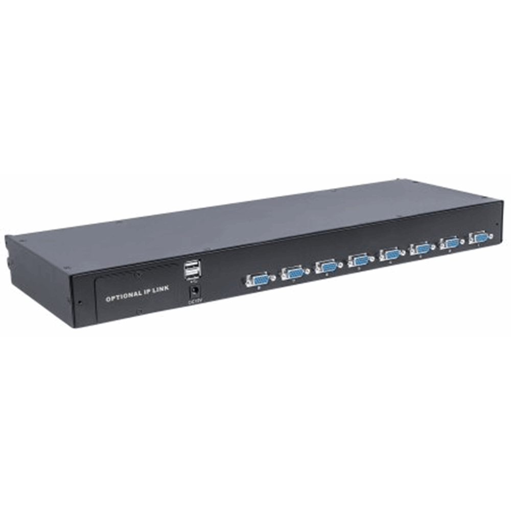 Modular 8-Port VGA KVM Switch