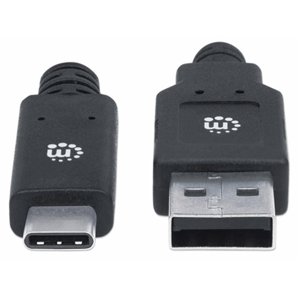 SuperSpeed USB C Device Cable Black, 2000 (L) x 16 (W) x 8 (H) [mm]
