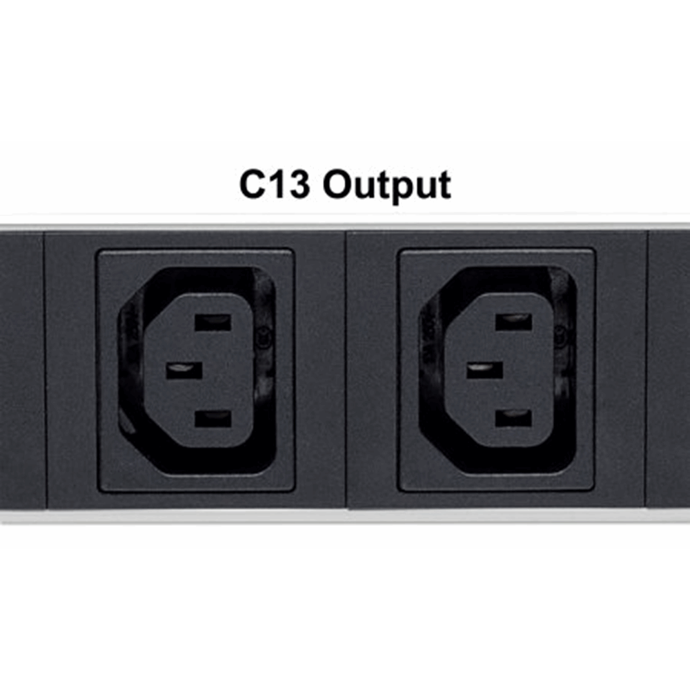 Vertical Rackmount 12-Output C13 Power Distribution Unit (PDU)