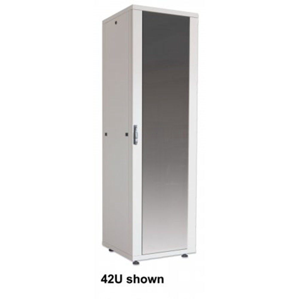 "Basic 19"" Network Cabinet Gray, 800 (L) x 600 (W) x 1144 (H) [mm]"