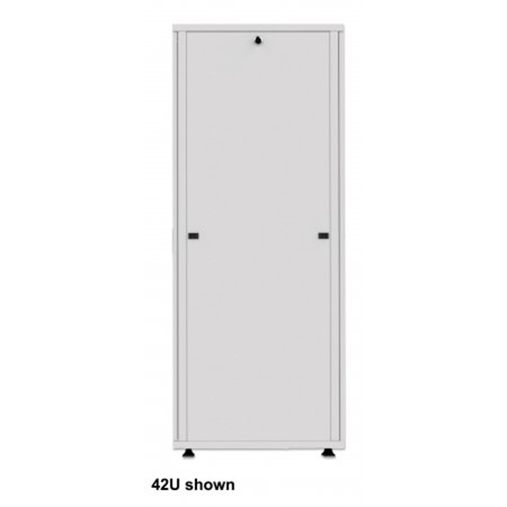 "Basic 19"" Server Cabinet Gray, 1000 (L) x 600 (W) x 1308 (H) [mm]"