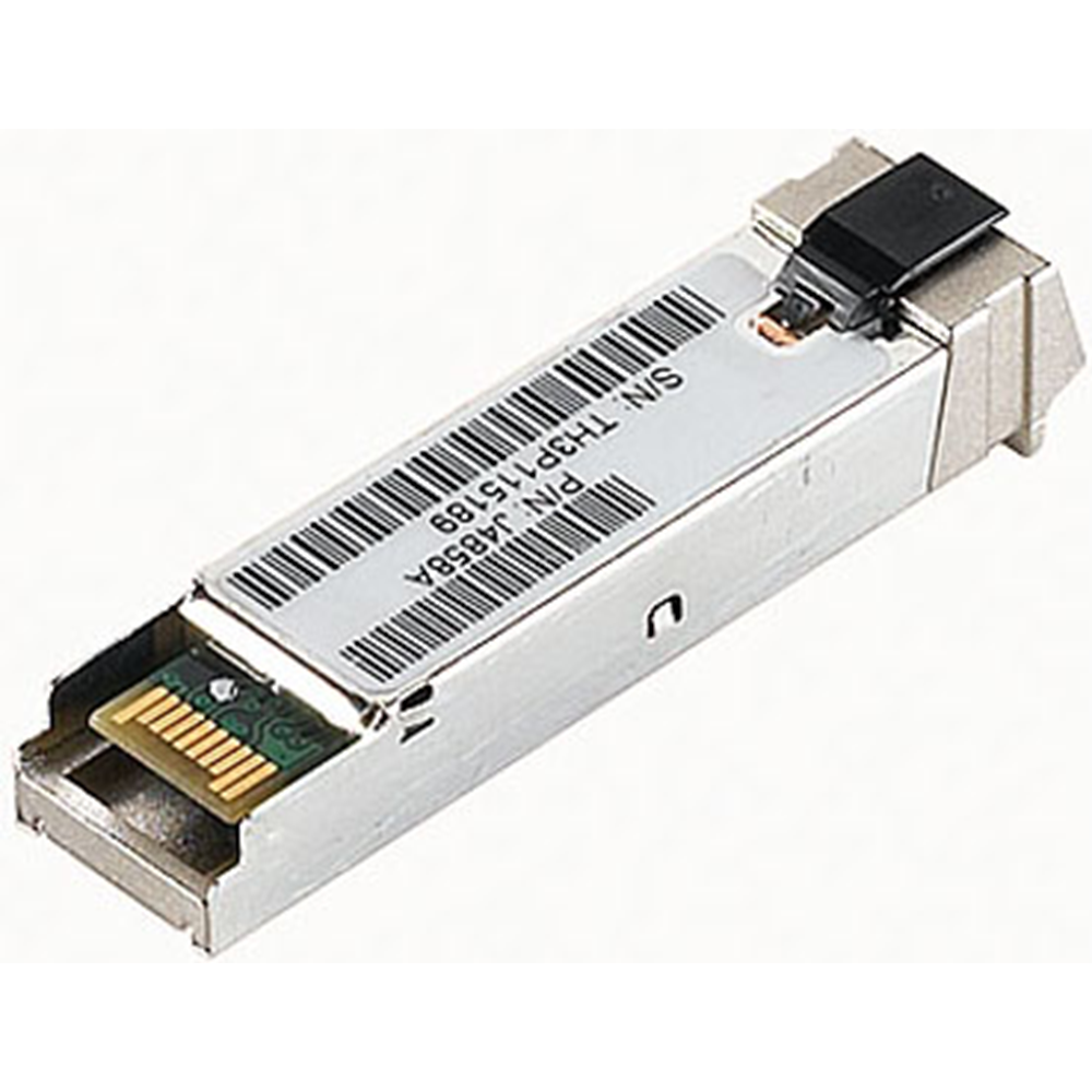 HPE Renew ProCurve GIGABIT-SX-LC MINI-GBIC - Transceiver - Fiber Optic 1 Gbps - Amount of ports: - Plug-In Module (J4858C)