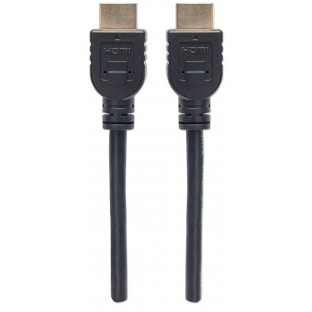In-wall CL3 High Speed HDMI Cable with Ethernet Black, 1 m