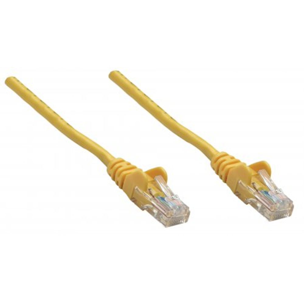 Premium Network Cable, Cat6, SFTP Yellow, 0.25 m