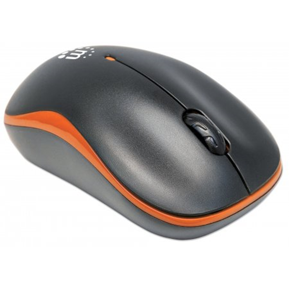 Success Wireless Optical Mouse Orange/Black