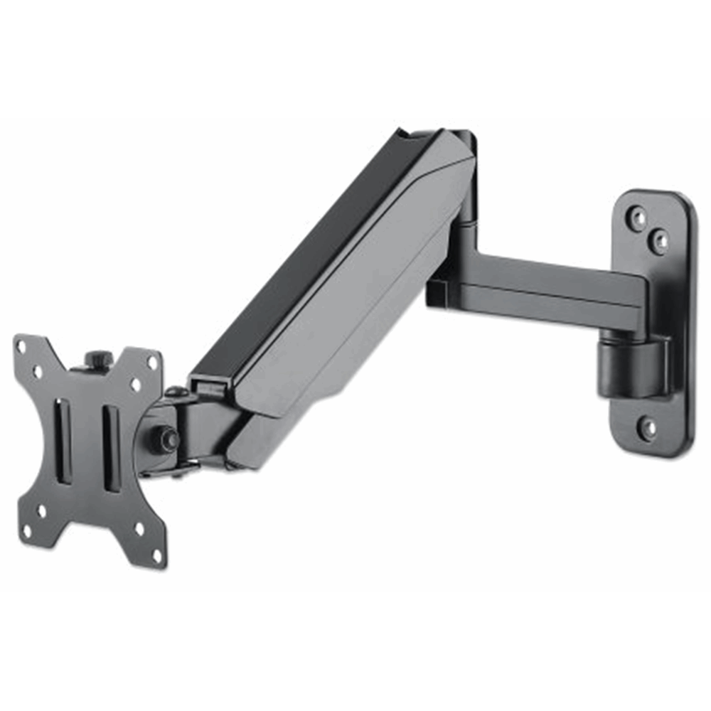 Universal Gas Spring Monitor Wall Mount Black, 521 (L) x 114 (W) x 280 (H) [mm]