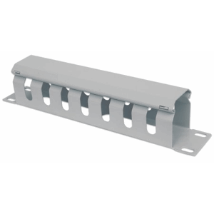 "10"" Cable Management Panel Gray, 51 (L) x 254.4 (W) x 44 (H) [mm]"