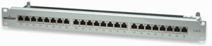 Cat6 Shielded Patch Panel Gray