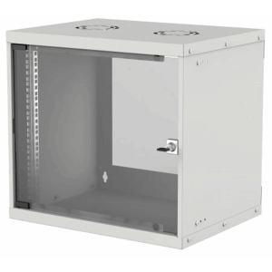 "19"" Basic Wallmount Cabinet Gray, 560 (L) x 540 (W) x 487 (H) [mm]"