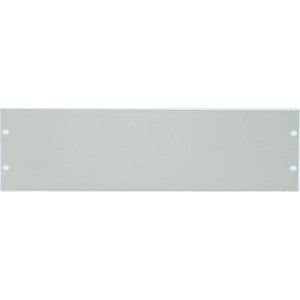 "19"" Blank Panel Grey RAL7035, 9 (L) x 483 (W) x 178 (H) [mm]"