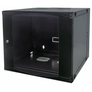 "19"" Double Section Wallmount Cabinet  Black, 450 (D) x 540 (W) x 460 (H) [mm]"