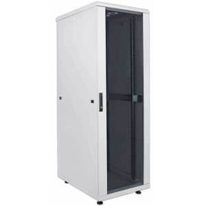 "19"" Network Cabinet, 36U, 1766 (h) x 600 (w) x 600 (d) mm, IP20-rated housing, Flatpack, Gray"