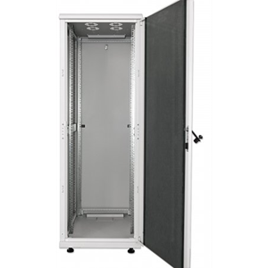 "19"" Network Cabinet, 36U, IP20-rated housing, Assembled, Gray"