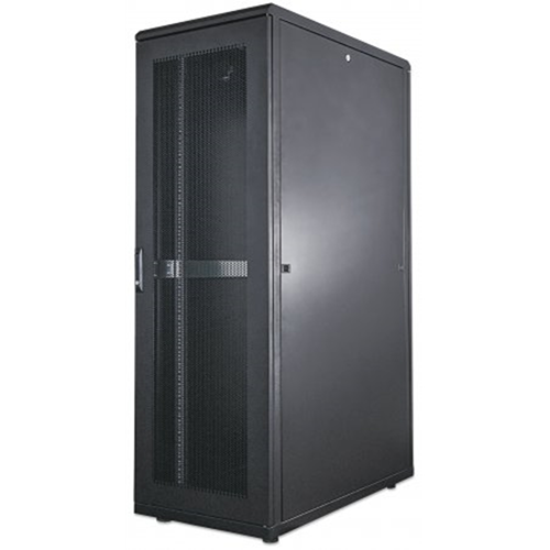 "19"" Server Cabinet, 42U, IP20-rated housing, Assembled, Black"