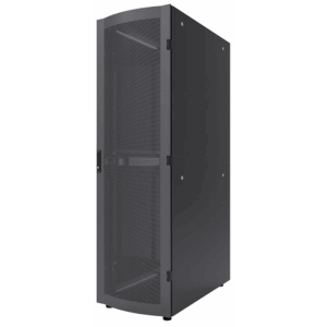 "19"" Server Cabinet Black RAL9005, 1200 (L) x 600 (W) x 2028 (H) [mm]"