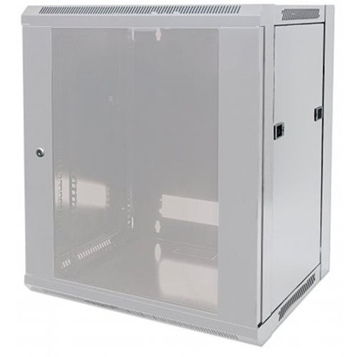 "19"" Wallmount Cabinet Gray RAL7035, 500 x 570 x 450 (mm)"