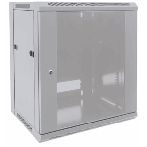 "19"" Wallmount Cabinet Gray RAL7035, 770 x 570 x 600 (mm)"