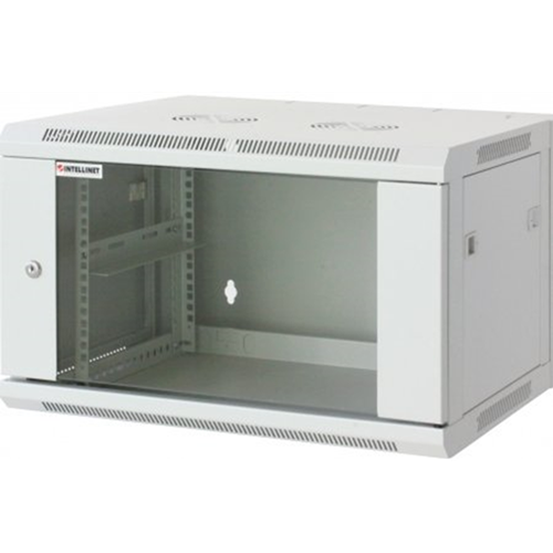 "19"" Wallmount Cabinet Gray RAL7035, 770 x 600 x 600 (mm)"