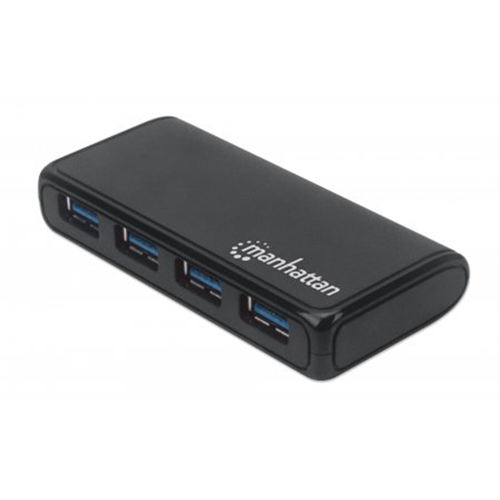 4-Port USB 3.2 Gen 1 Hub With Power Adapter
