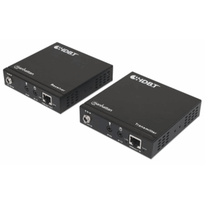 4K HDMI over Ethernet Extender Kit, Extends Distances of 4K@30Hz up to 70 m (230 ft.) and 1080p up to 100 m (330 ft.) Using Single Ethernet Cable, Pow