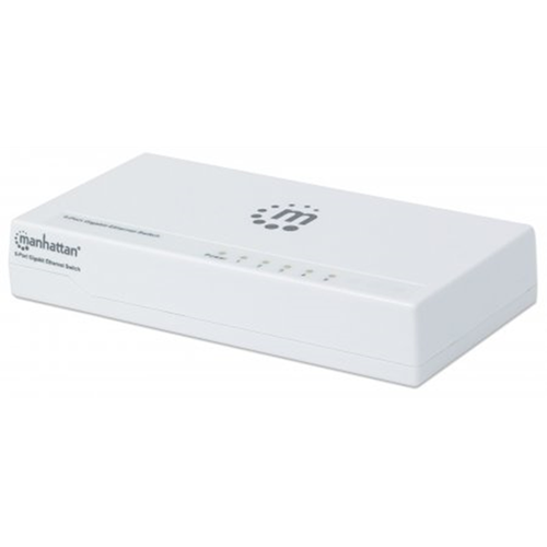 5-Port Gigabit Ethernet Switch White