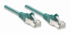 Network Cable, Cat6, UTP Green, 5.0 m