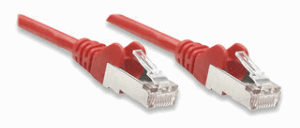Network Cable, Cat5e, FTP Red, 15.0 m