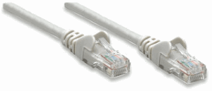 Network Cable, Cat5e, FTP Gray, 1,0 m
